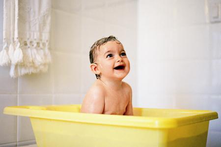 宝宝洗澡水温多少最适宜