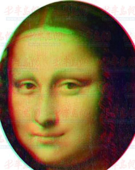 曾画/研究人员称将两幅画结合起来能出现3D效果。...