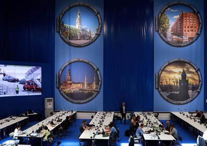 走进G20汉堡峰会国际新闻中心
