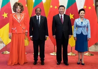 习近平同喀麦隆总统比亚举行会谈